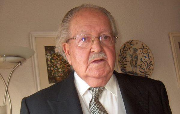 Fallece a los 92 años de edad el poeta almeriense Julio Alfredo Egea