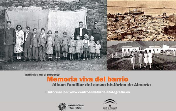 'Memoria viva del barrio', un proyecto fotográfico con el casco histórico de Almería como protagonista