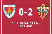 El Almería gana en Soria y prolonga su buen momento