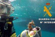 Retiran una red de pesca de 30 metros sumergida en Cabo de Gata (video)