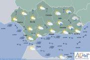 Viento, lluvia y calor en el veranillo de San Miguel en la provincia de Almería