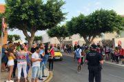 Protestas y crispación en el IES Carmen de Burgos de Huércal por la falta de aulas para Bachillerato