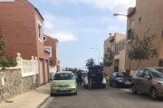 Dos detenidos tras empotrarse contra otro coche en una persecución policial en Huércal