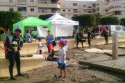 Voluntarios retiran cerca de 500 kilos de residuos de la costa abderitana
