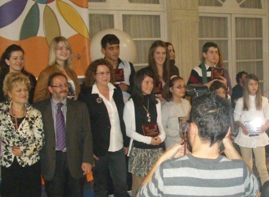 Entrega de premios Cuentos Interculturales