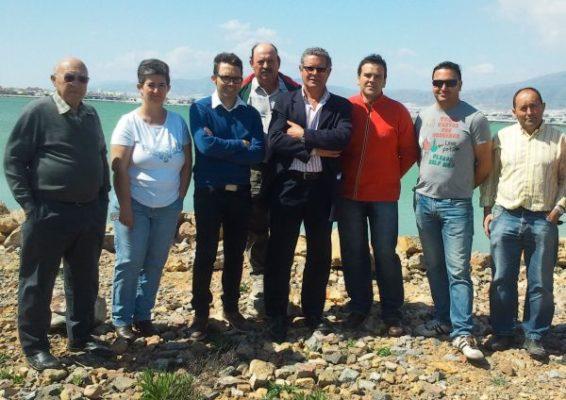 Candidatura de UPyD en la Balsa del Sapo de Las Norias- Elecciones Andaluzas