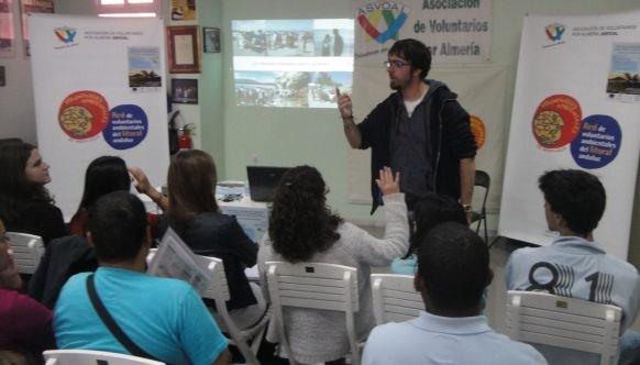 Voluntarios de Almería