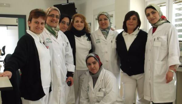 Delegación sanitaria Marruecos