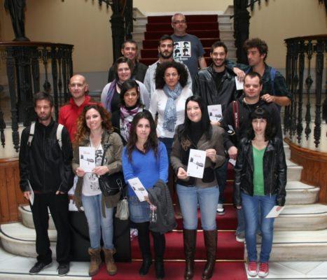 Participantes en la exposición ESTO (ES) ESTÉREO