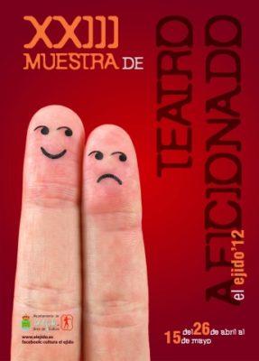 Cartel de la Muestra de Teatro Aficionado de El Ejido