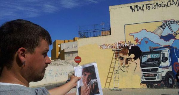 Graffiti de Hermi
