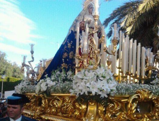 Virgen de la Amargura Almería