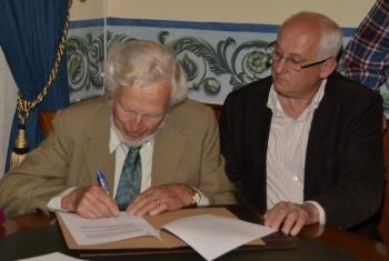 firma del convenio de cesion