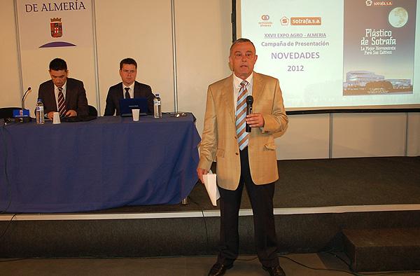 José Fernández, director Comercial de Sotrafa