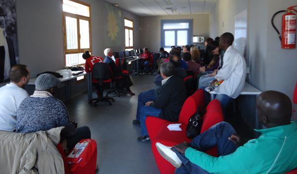 participantes en el taller