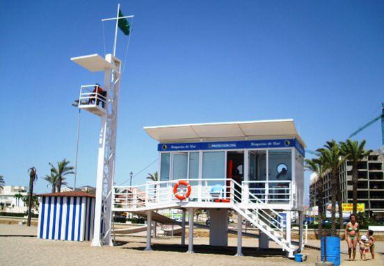 puesto vigilancia playas