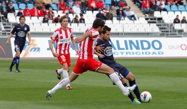 La UD Almería ganó al Deportivo de la Coruña con facilidad y ha dado la talla contra los mejores de la Liga Adelante