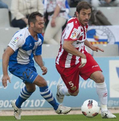 Con Esteban Vigo en el banquillo Bernardello ha vuelto a jugar en la UDA
