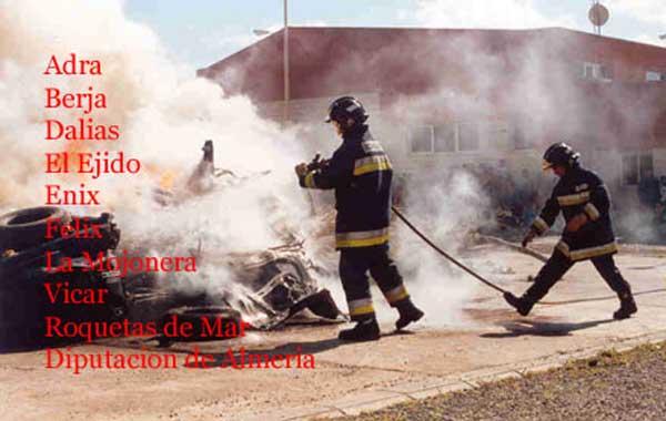 El Consorcio de Bomberos del Poniente está coordinado por la Diputación de Almería