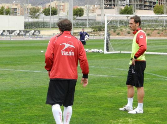 Al central de la UD Almería le han cortado su participación en el final de la Liga Adelante
