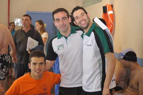 Después de hacer un extraordinario Campeonato de Andalucía Tejada se fija como objetivo el Campeonato de España de Natación Adaptada