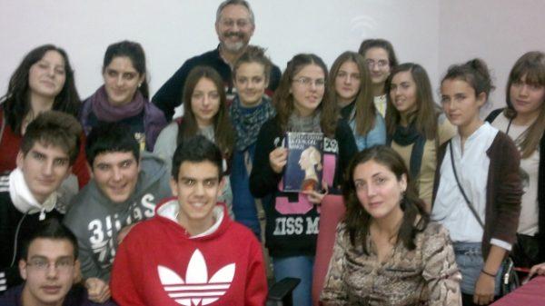 Club de lectura juvenil de purchena con Espido Freire
