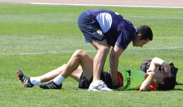 El riesgo de lesiones musculares está presente en este tramo de la Liga Adelante