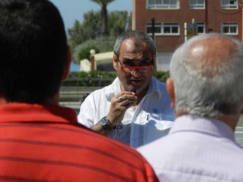Juan Manuel Martínez es el presidente de la Asociación Humanitaria el Misionero y el Mundo