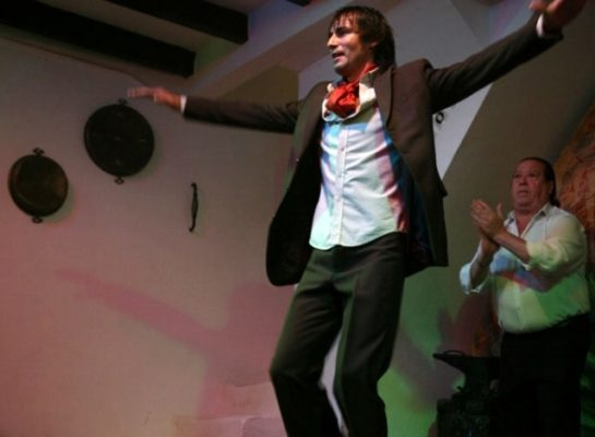 El bailaor 'El Junco', en el Apolo