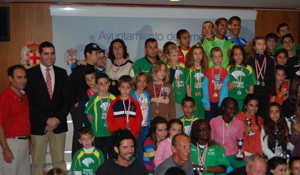 Todas las modalidades de atletismo han tenido su reconocimiento en Almería