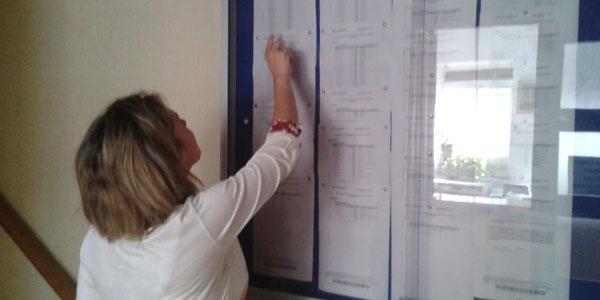 Los padres y madres han estado muy atentos en el primer día de publicación del listado de admitidos