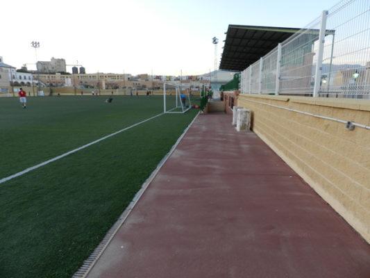 La AD Huércal no pondrá gradas supletorias pero habilitará otras zonas de su estadio ante el Linares Deportivo