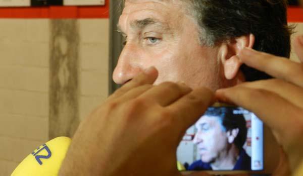 El 'Boquerón' Esteban sacará el once tipo de su UD Almería con Michel ante el Guadalajara