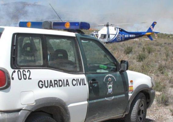 Incendio Vélez Rubio