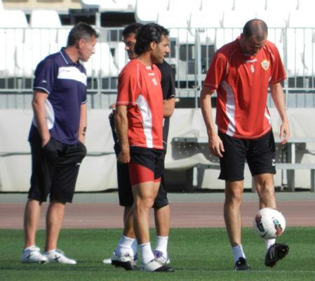 Día complicado el de la vuelta al trabajo tras perder las opciones de ascenso de la UD Almería