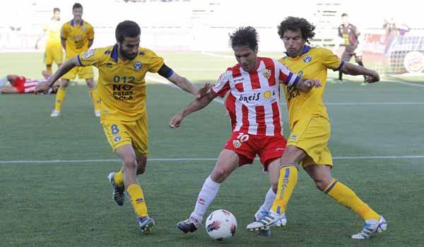 Ortiz Bernal ha dado otro aire al ataque de la UD Almería desde que cuenta para 'Boquerón' Esteban