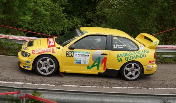 Manuel Maldonado Rally Subida al Fito