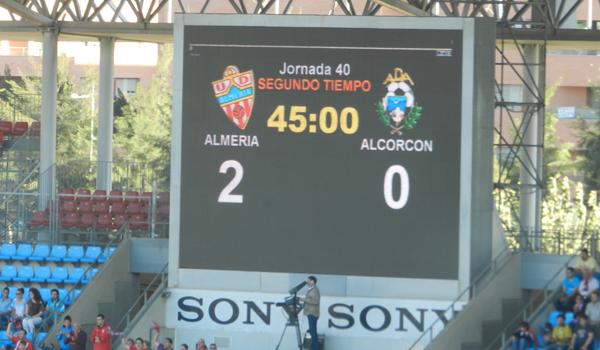 La UD Almería ha revivido sus opciones de playoff hacia la Liga BBVA