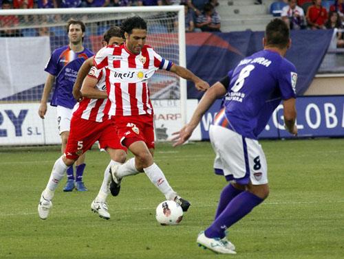 El capitán de la Unión Deportiva Almería es José Ortiz Bernal