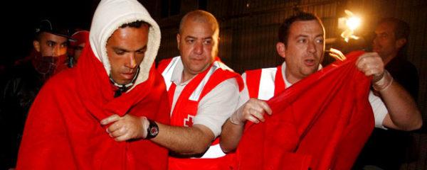 Patera Cruz Roja