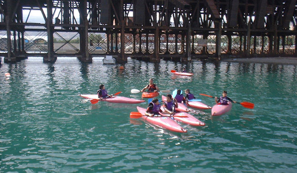 Este fin de semana se desarrolla el Curso de Iniciación a la Piragua en el Club de Mar de Almería
