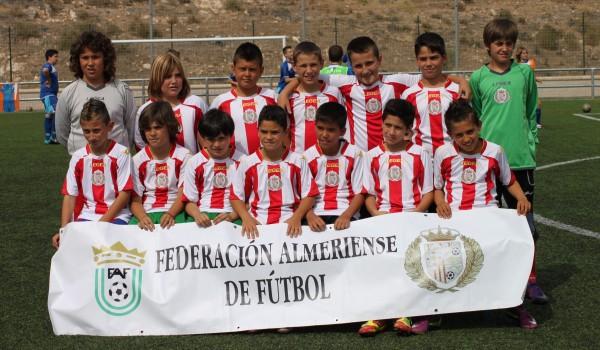 Selección Benjamín Fútbol7 Almería