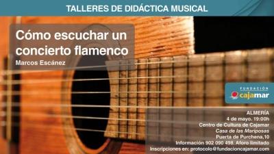Taller de didáctica de flamenco