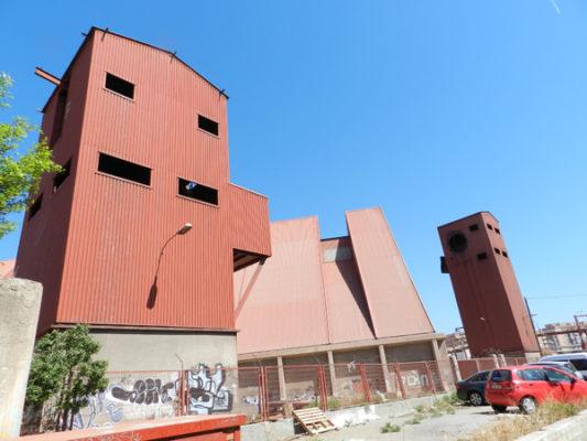 La composición del Toblerone en Almería tiene varios edificios espectaculares