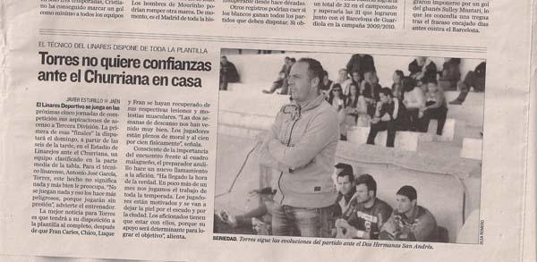 El Linares Deportivo se medirá a la AD Huércal en el partido decisivo para subir a Tercera División