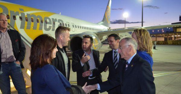 Turistas suecos Primera Air