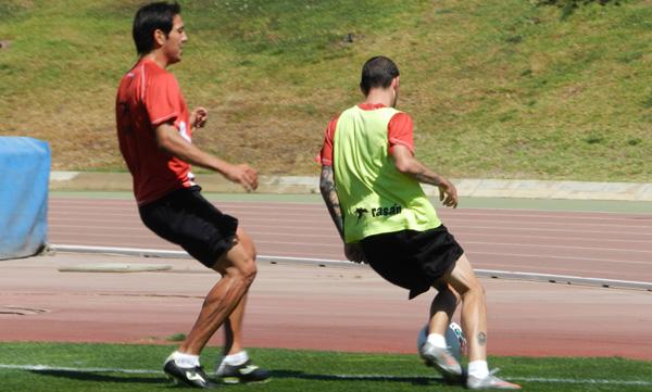 El pichichi de la Liga Adelante y de la UD Almería ha marcado un gol desde que llegó 'Boquerón' Esteban