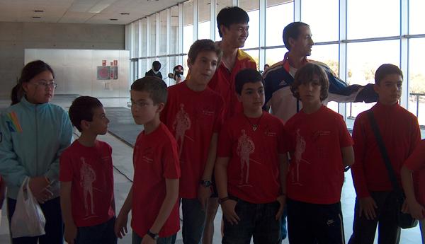 Zhong Mann es uno de los ídolos presentes en el II Stage Internacional de Esgrima Ciudad de Almería