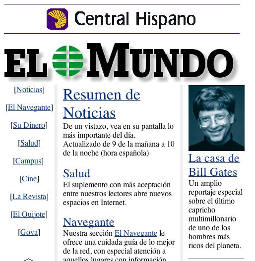 El Mundo 1996
