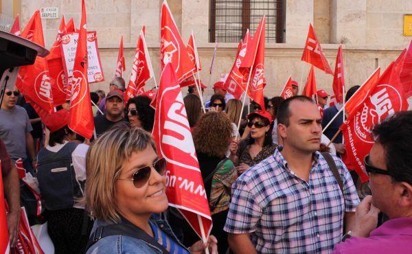 Protesta Subdelegación Almería